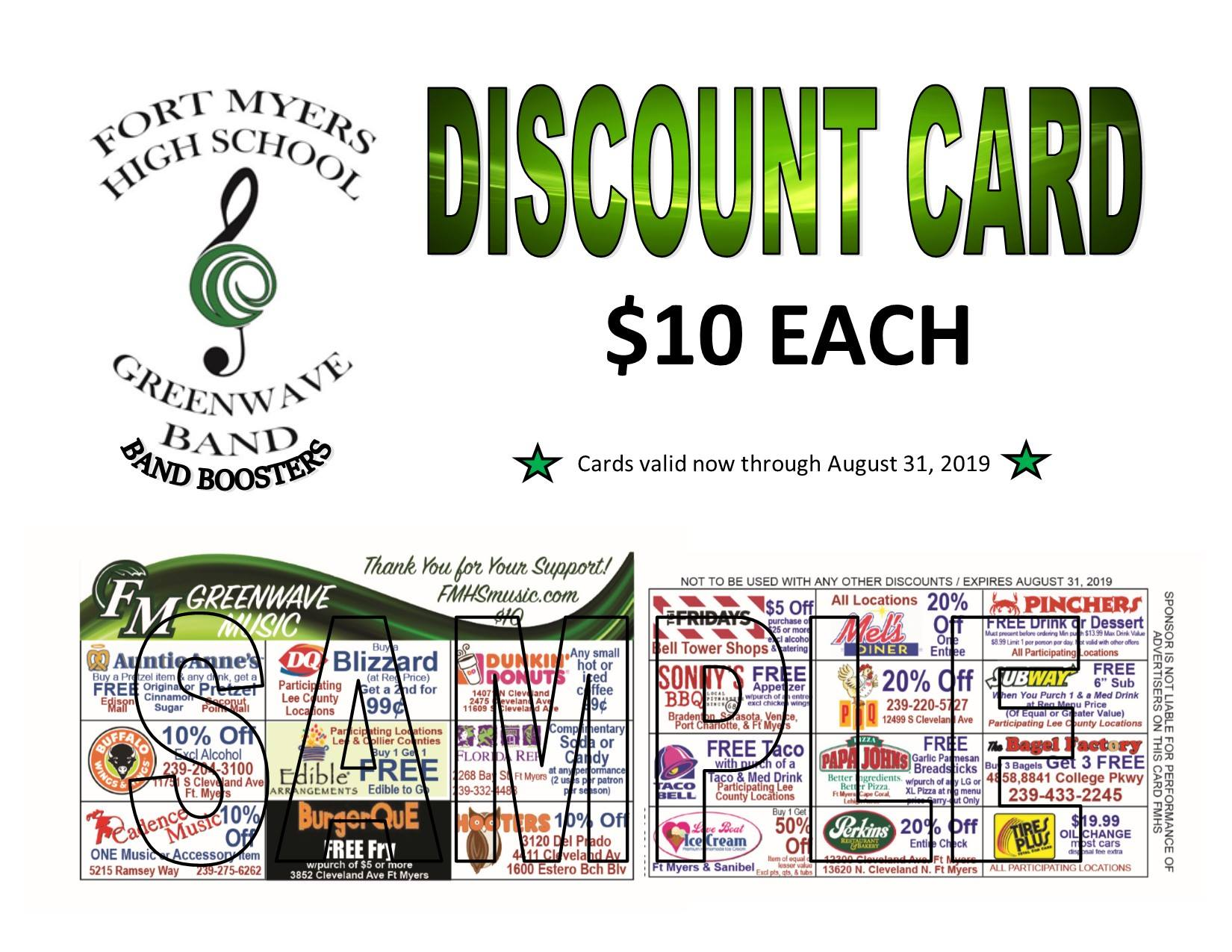 discount card fundraiser - Copy