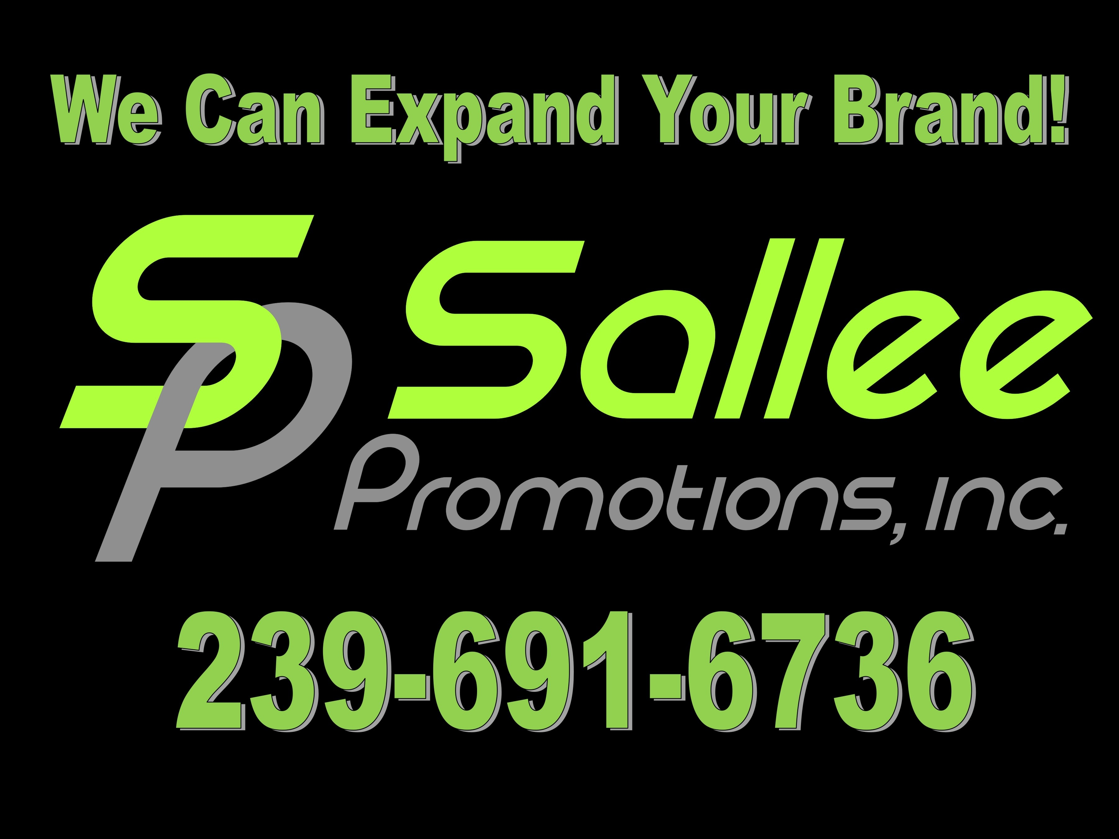 Sallee Promotions Sign